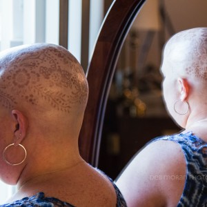 Chemo Head as Art – July 25, 2015