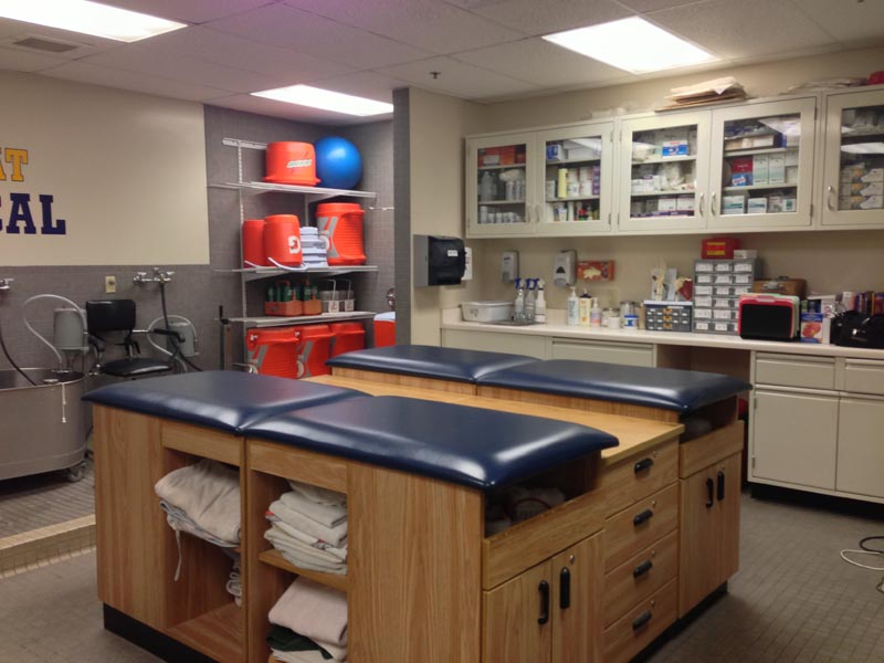 Athletic Training Facility  Athletic Trainer  Bishop Amat Memorial High School