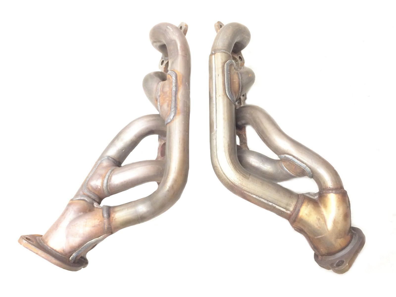 exhaust header manifold 5 0l mustang gt 2011 2012 2013 2014 oem 4v set pair