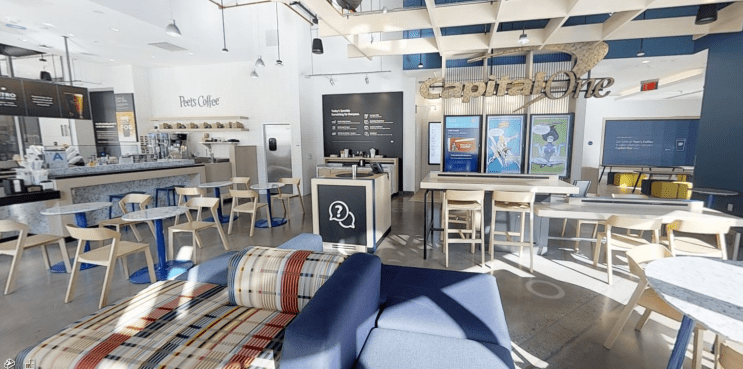 Capital One Cafes by Bishop Fixture