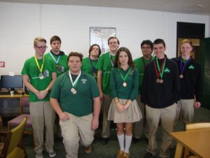 2016 Science Olympiad Medalists at bishop ludden 1 - 2016-Science-Olympiad-Medalists-at-bishop-ludden