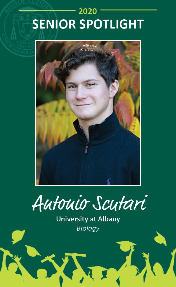 Antonio Scutari - Congratulations Graduates