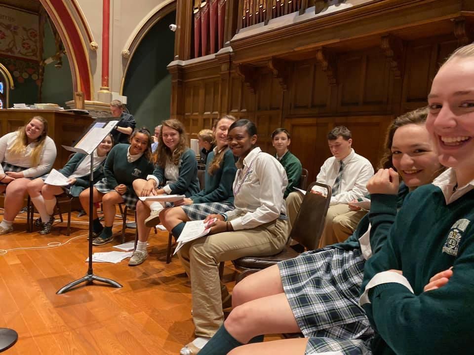 Concert Choir 1 - Concert Choir & Band