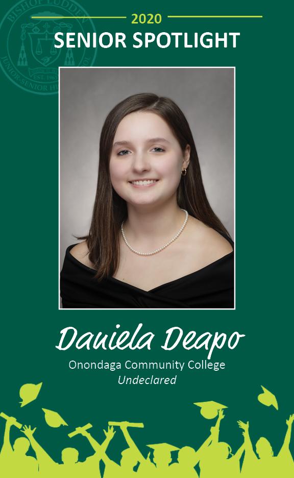 Daniela Deapo - Congratulations Graduates