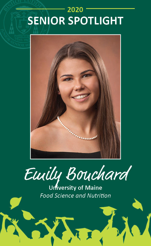 Emily Bouchard - Congratulations Graduates