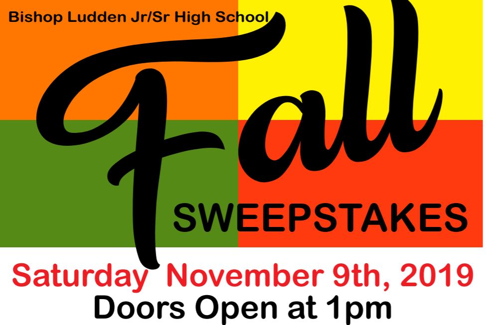 Fall Sweepstake 2019 - Fall Sweepstakes!