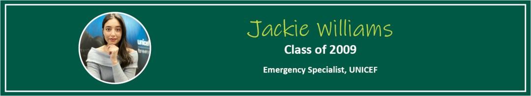 Jackie Williams Tease - Alumni Spotlight