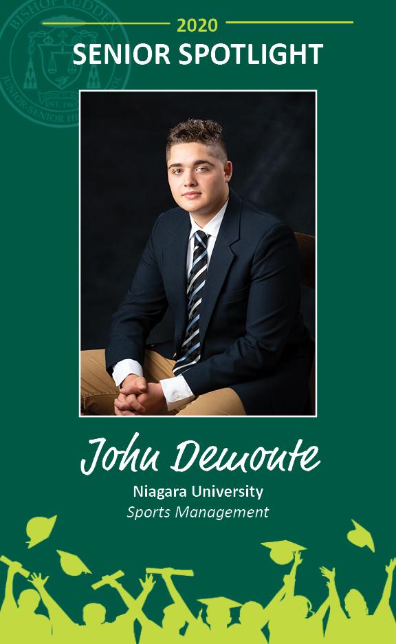 John Demonte - Congratulations Graduates