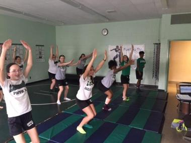 Physical Education - Yoga Unit bishop ludden