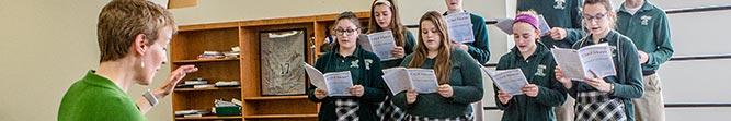 arts bishop ludden catholic school cny - Christian Service