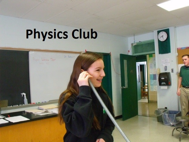 bishop ludden Physics Club and Robotics - Physics Club