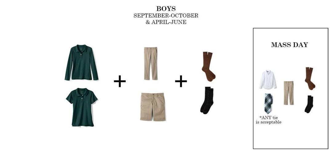 boys regular uniform bishop ludden - Uniform & Dress Code