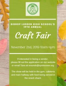 craft fair flyer 2019 - craft fair flyer 2019