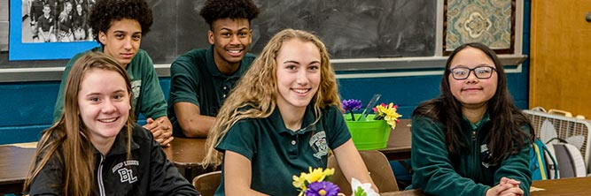 giving bishop ludden private catholic school syracuse - International Baccalaureate Programe