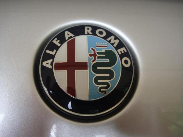 Alfa Romeo Badges Vintage