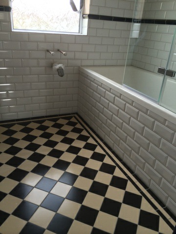 Stunning tiles for bathroom walls and floors at Bishopston