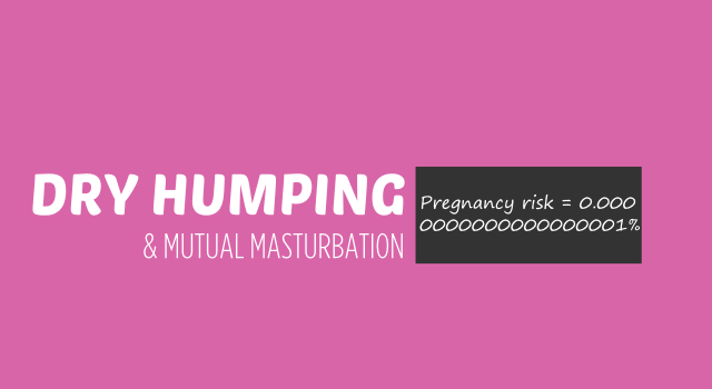 Mutual Masturbation and Dry Humping – Why they are a very safe kind of sex