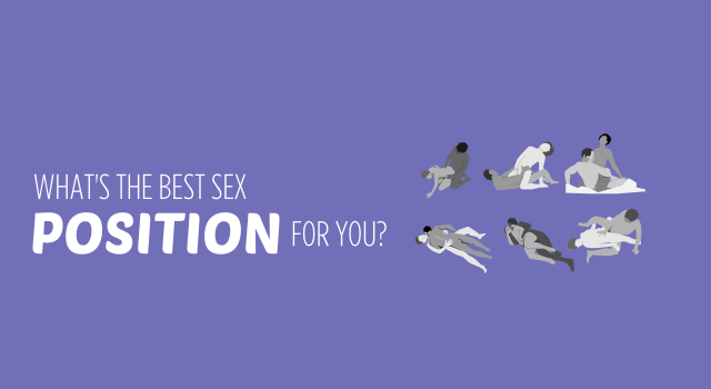 What's The Best Sex Position For You?