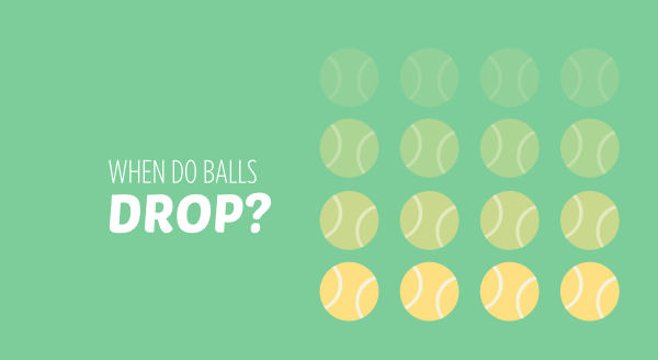 when do balls drop?