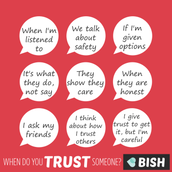 when can you trust someone