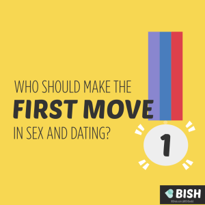 Who should make the first move in sex and dating