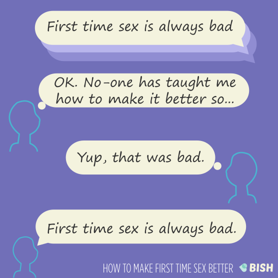 How to be good at sex for the first time