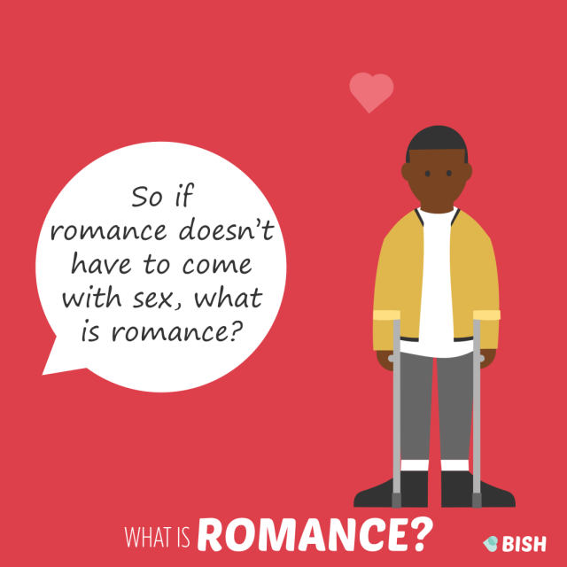 if romance doesn't have to come with sex, what is romance