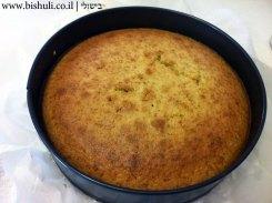 עוגת פקאן וקרמל - הכנה 5
