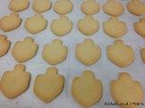 עוגיות חמאה - לאחר אפייה