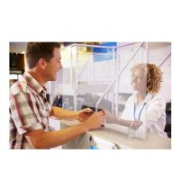 EXACOMPTA – Mur hygiénique Exascreen Verre acrylique 65 x 90 x 22 cm