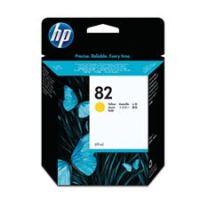 HP – Cartouche d'encre no. 82 jaune – 69 ml