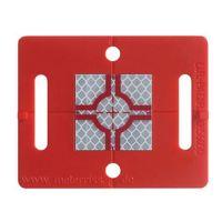 Plaquette de mesure – (RS51)- rouge