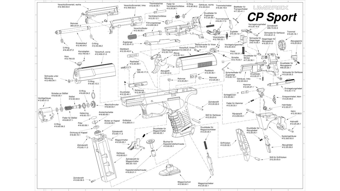 Umarex CP Sport Spare Parts