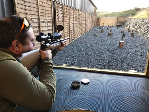 Image result for Air rifle shooting