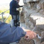 Sanierungsarbeiten Bismarckturm Weißenfels 2007 - Turm außen