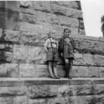 Kinder am Bismarckturm