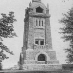 Bismarckturm nach Fertigstellung
