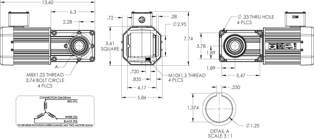 Dayton Gear Motor Wiring Diagram • Wiring And Engine Diagram