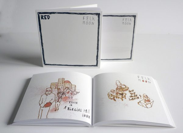 Red - Felk Moon Book - BIS-009-U-B