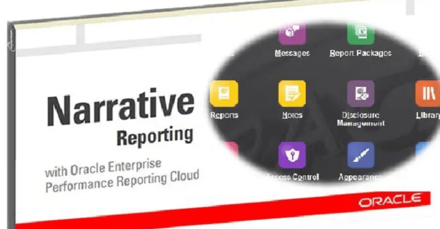 Oracle Narrative Reporting