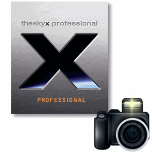 Camera Add On to TheSkyX Professional Edition (Mac or Windows)