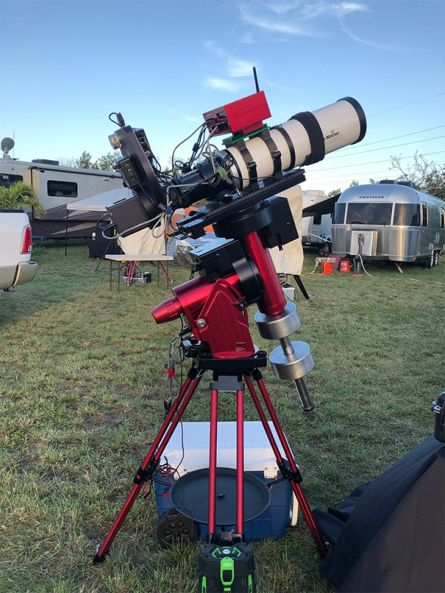 Paramount MX+ with 100 mm refractor