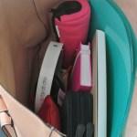 Un sac de cours avec la bonne taille