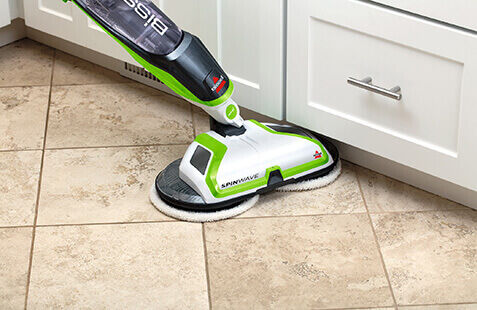 best way to clean tile floors bissell