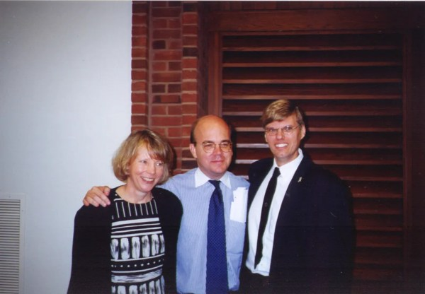 Diane Enochs, Area Director, Central Region DMR, Congressman Jim McGovern, Rich Bissell, Regional coordinator, Families Organizing for Change.