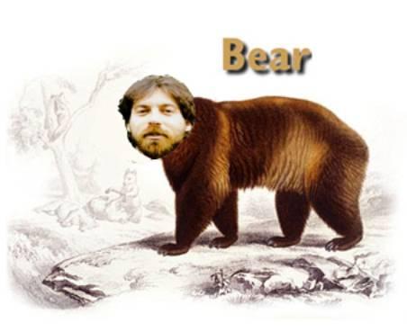 Uncle Bear isn't a real bear!