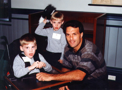Eric and Aaron Meet Doug Flutie!