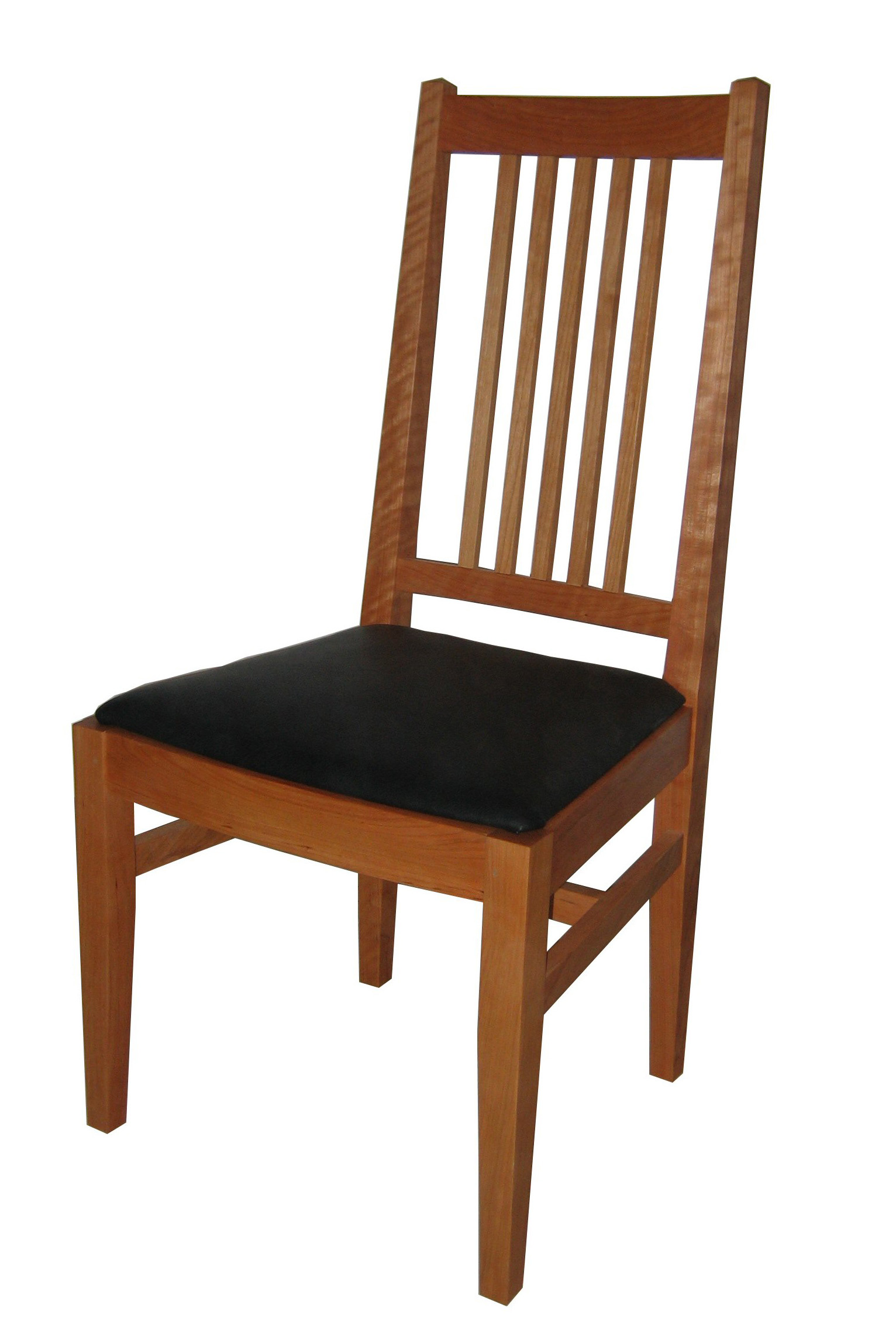 cherry wood chairs power recliner chair reviews a look at richard bissell 39s shaker and mission furniture