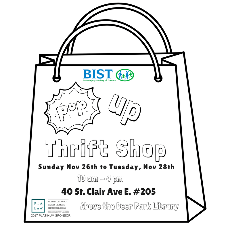 Pop Up Thrift Shop BIST