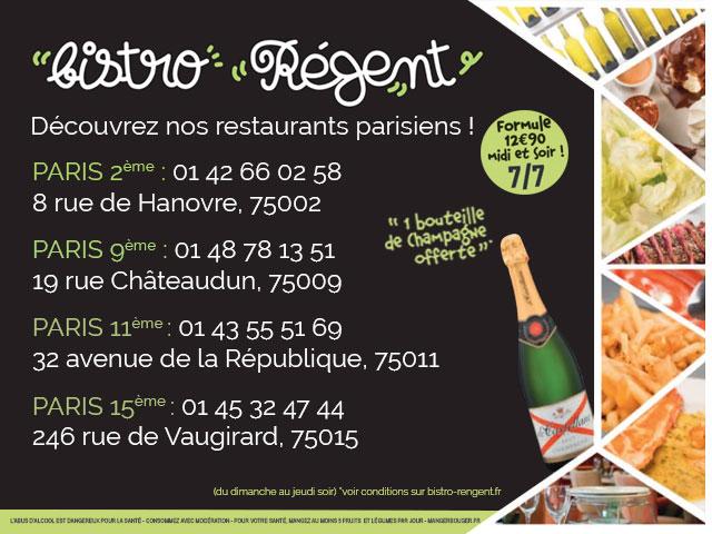 Bistro Régent Le Restaurant à Base De Produits Frais